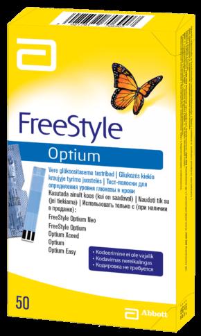 FreeStyle Optium Neo gliukomatis juostele dezute